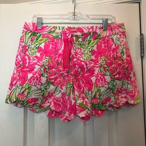 NWT Lilly Pulitzer Buttercup Stretch Short 8
